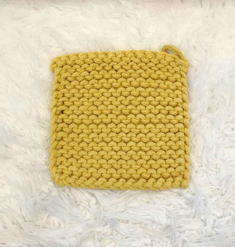 Knit Pot Holder