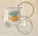 Lil Sister Kits Blocking & Dressing Wires