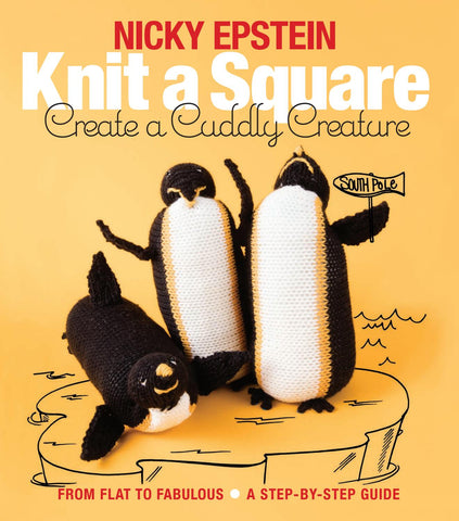 Knit a Square - Create a Cuddly Creature