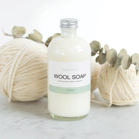 Twig and Horn Wool Soap