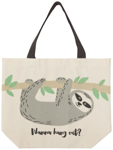 Large Tote - Sybil Sloth