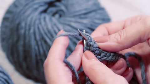 Adult Beginner Knitting Two Sessions - Knit a Scarf Tuesday+Wednesday, March 26th+27th, 4-6PM