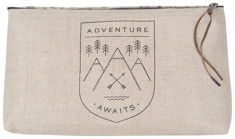 Adventure Awaits Large Project Bag