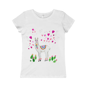All Love Llama Princess Tee