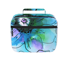 Anemone Blue Lunch Box
