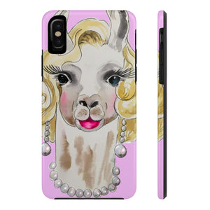 Marilyn Llama Pink Case Mate Tough Phone Case