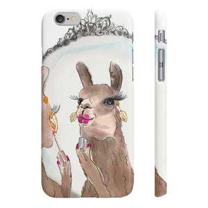 Miss Priss Llama Wpaps Slim Phone Case