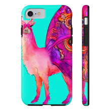 Butterfly Llama Aqua Case Mate Tough Phone Case