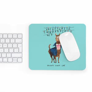 Aqua 11 Llama: Stranger Things Mousepad