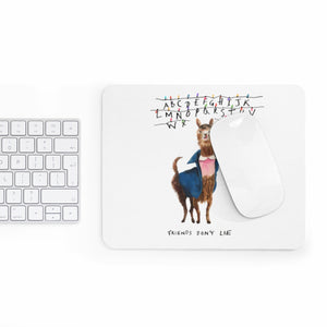 11 Llama: Stranger Things Mousepad