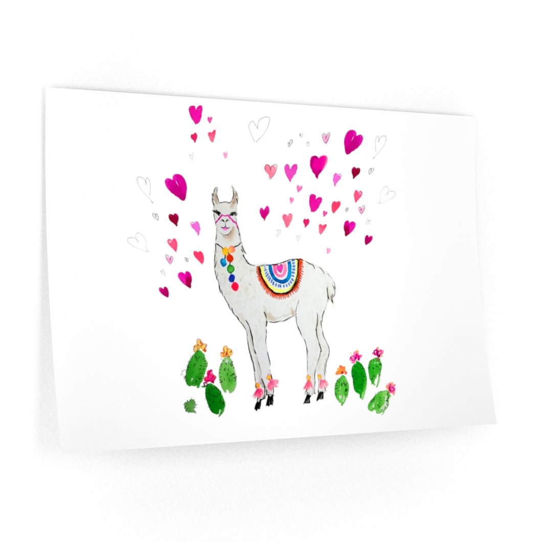 All Love Llama Wall Decals