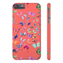 Butterfly Swarm Coral Case Mate Slim Phone Case