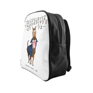 11 Llama: Stranger Things School Backpack