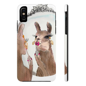 Miss Priss Llama Case Mate Tough Phone Case