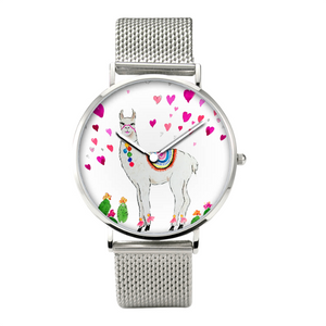 All Love Llama 30 Meters Waterproof Quartz Watch