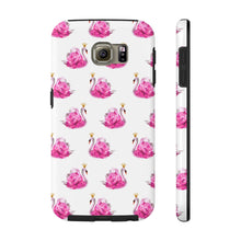 Crowned Swan White Case Mate Tough Phone Case