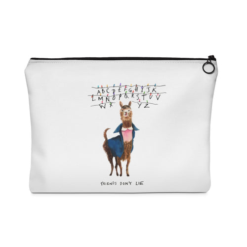 11 Llama: Stranger Things Carry All Pouch