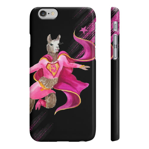 Girl Power Llama Wpaps Slim Phone Case