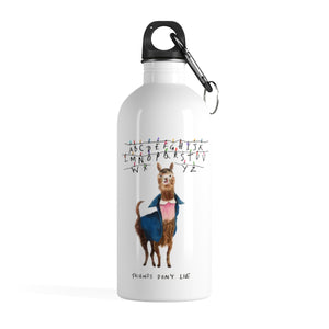 11 Llama Stainless Steel Water Bottle