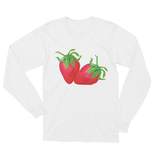 Strawberries Long Sleeve T-Shirt Unisex