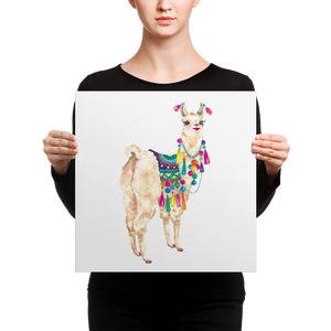 Bollyllama Canvas