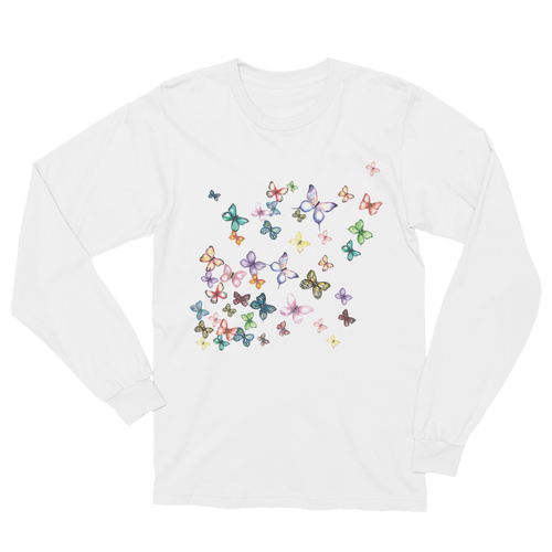 Butterfly Swarm Long Sleeve T-Shirt Unisex