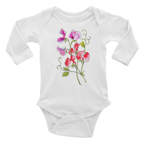Sweet Pea Infant Long Sleeve Bodysuit