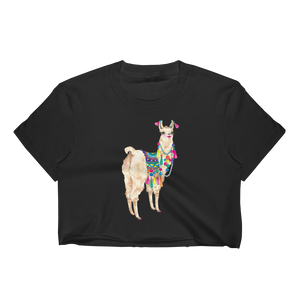 Bollyllama Women's Crop Top