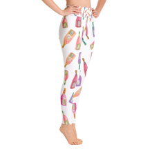 Champagne Bottles Yoga Leggings