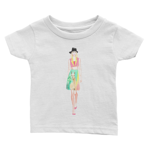 Fashion Llama Infant Tee