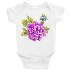 Peony & Pansy Bloom Infant Bodysuit