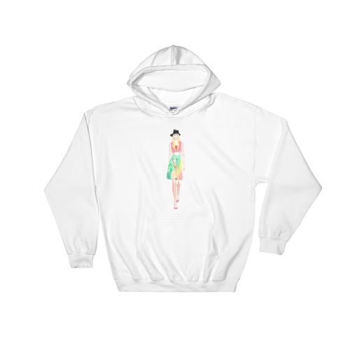 Fashion Llama Hooded Sweatshirt