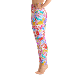 Candy Frenzy Yoga Leggings