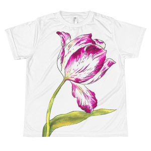 Pinkish Tulip Youth Sublimation T-Shirt
