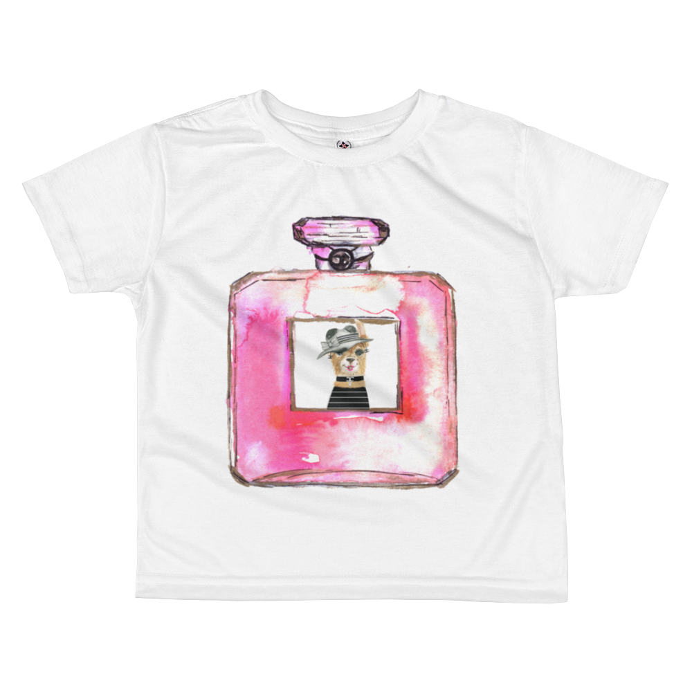 Eau de Llama Kids Sublimation T-Shirt