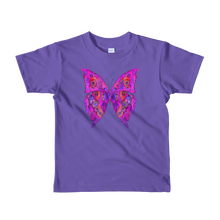 Beautiful Butterfly Short Sleeve Kids T-Shirt