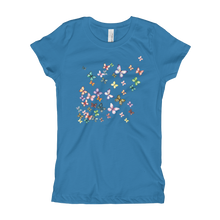 Butterfly Swarm Girl's T-Shirt