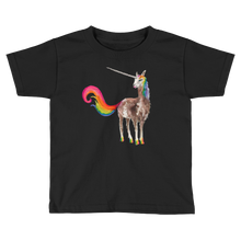 Mystical Llamacorn Kids Short Sleeve T-Shirt