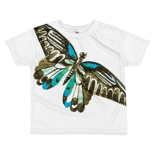 Pretty Butterfly Kids Sublimation T-Shirt