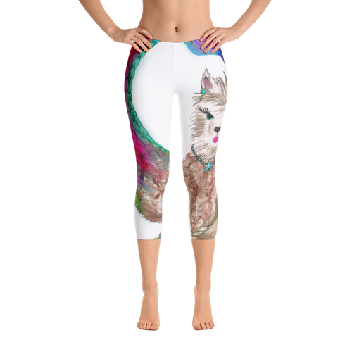 Merllama Capri Leggings