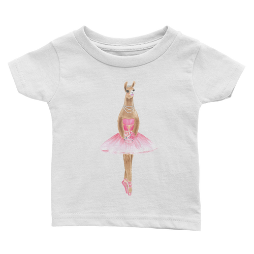 Balletllama Pink Infant Tee