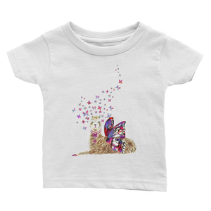 Spread Your Wings Llama Infant Tee