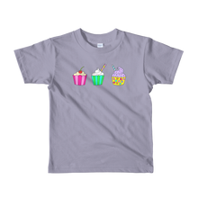 Cupcakes Short Sleeve Kids T-Shirt