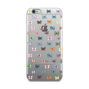 Butterfly Pattern iPhone Case