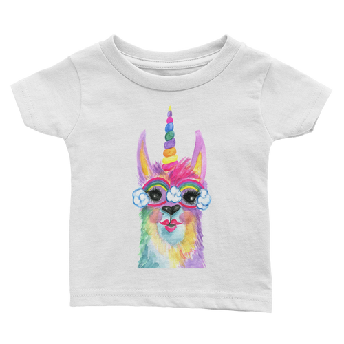 Rainbow Llamacorn Infant Tee