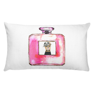 Eau de Llama Rectangular Pillow