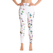Butterfly Swarm Yoga Leggings
