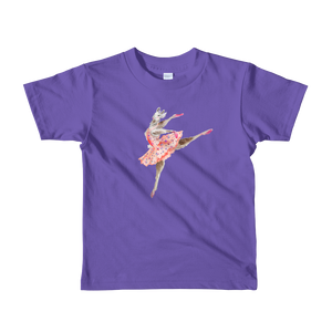 Balletllama Tutu Short Sleeve Kids T-Shirt