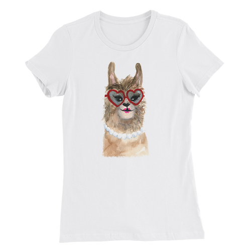 Grandllama Women's Slim Fit T-Shirt