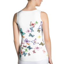 Butterfly Swarm Women's Sublimation Cut & Sew Tank Top